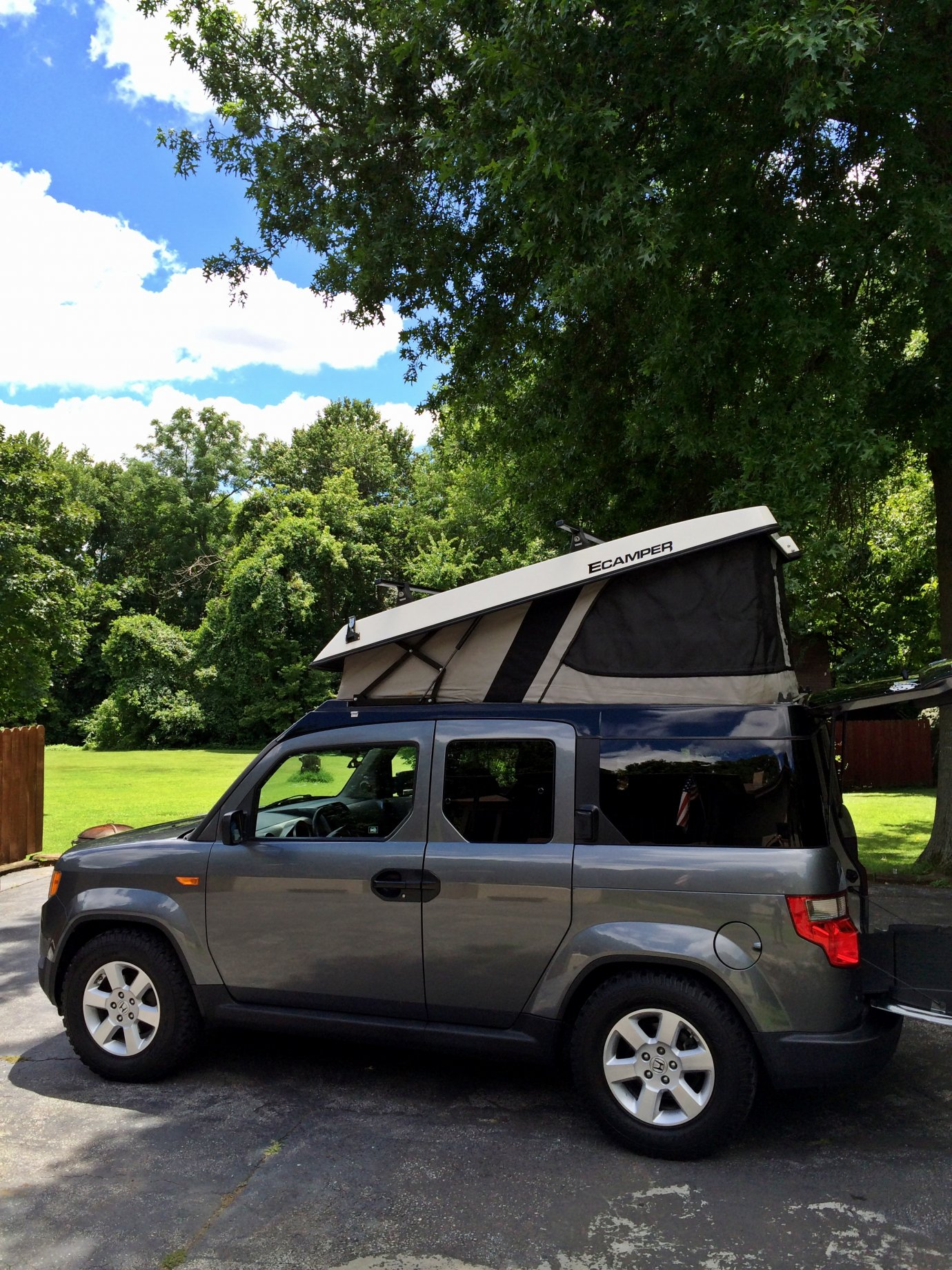 2010 Element EX with Ecamper conversion - Expedition Portal