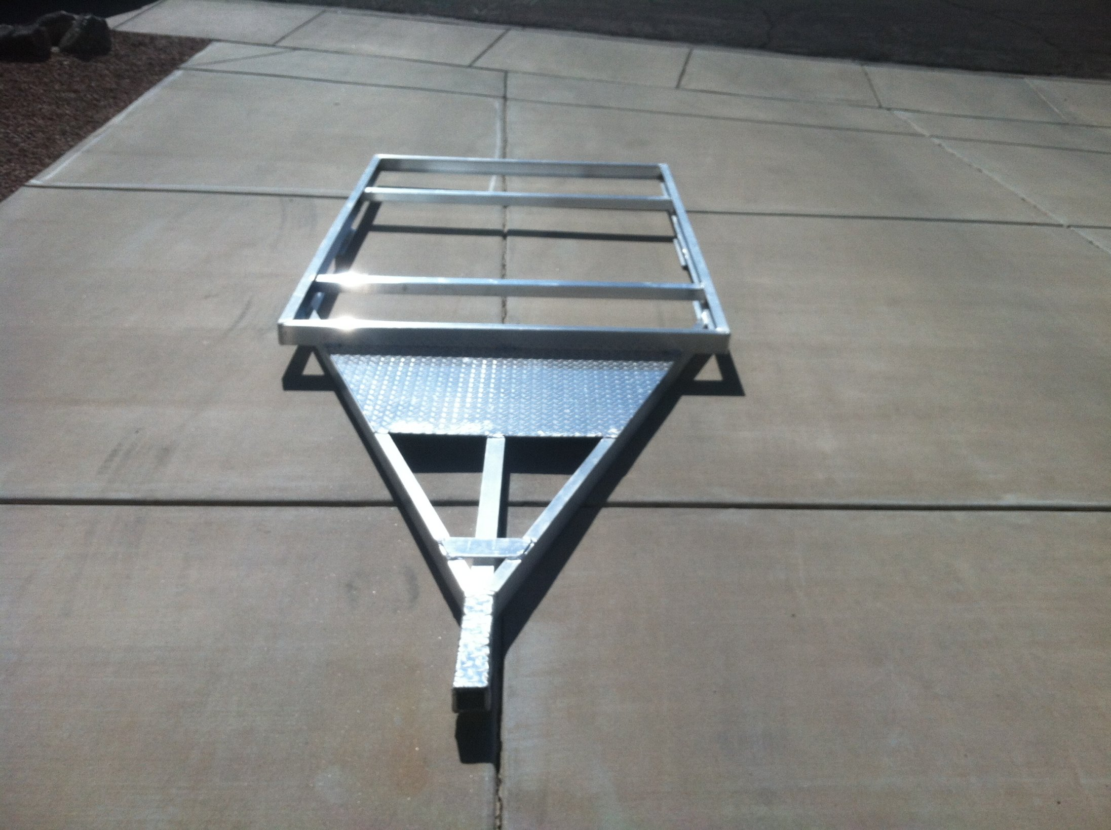 Custom aluminum trailer frame for sale. | Expedition Portal