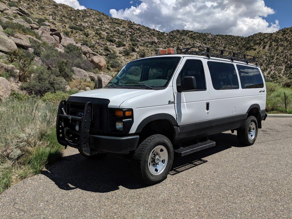 Price Drop 16 900 2008 Ford E350 Quigley 4x4 6 0 Diesel Expedition Portal