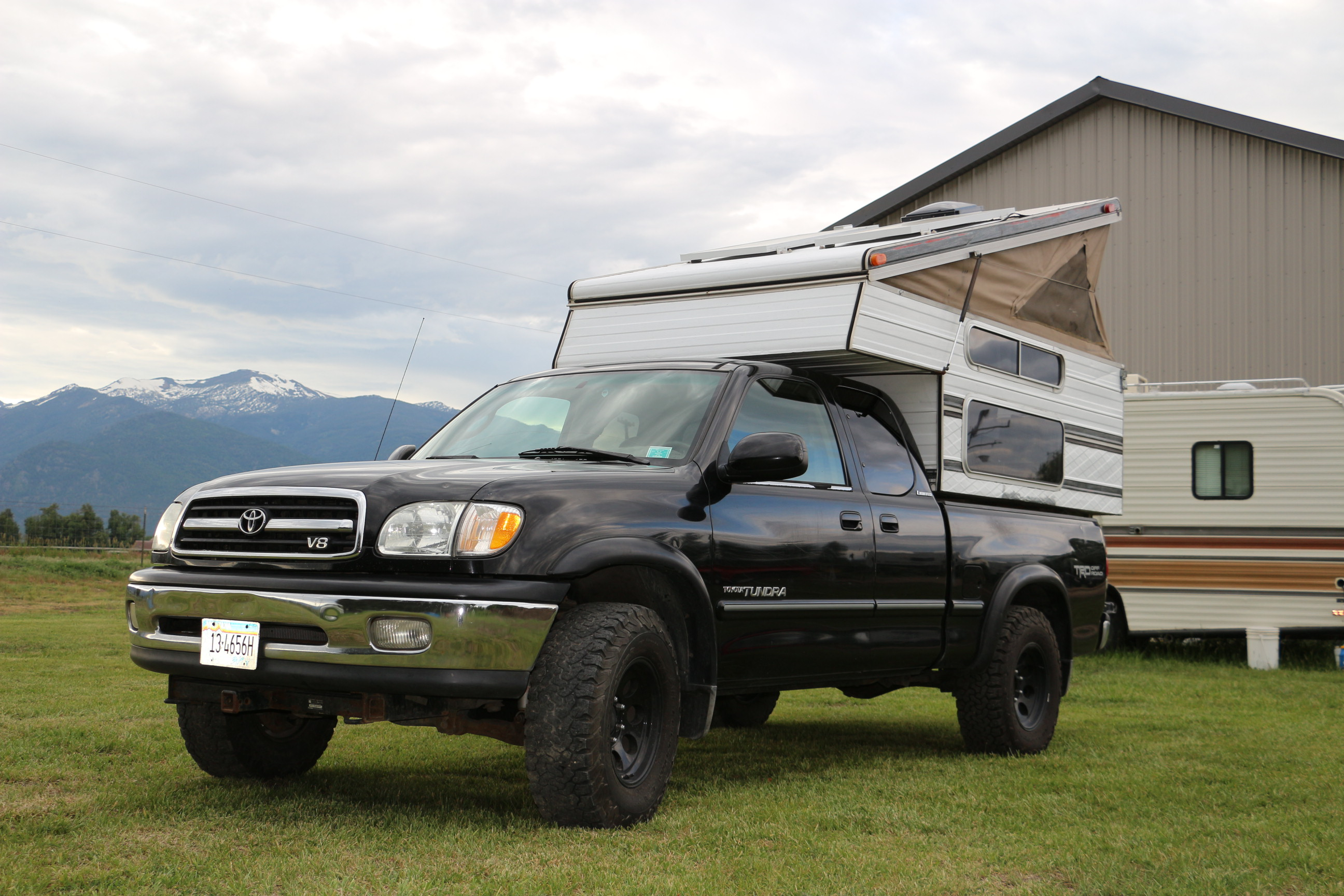 2001 Toyota Tundra 4x4 V8 With Roamin Chariot Camper Expedition Portal