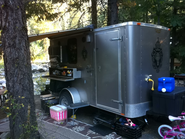 2011 Cargo Trailer Conversion With Additional 8 Quot Of