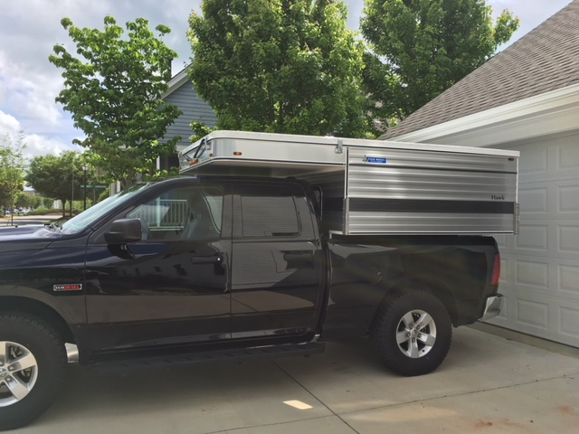 2016 FWC HAWK for sale four wheel campers, NC  Hardly used