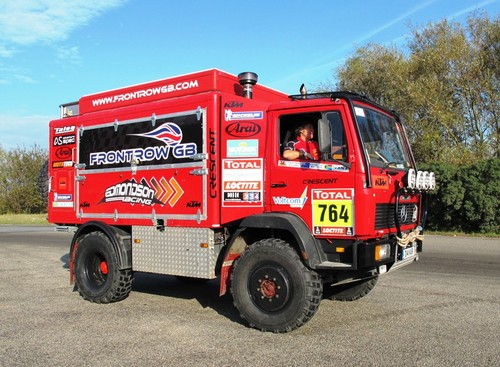 986354bb8d MERCEDES 917 DAKAR RALLY SERVICE TRUCK - UK