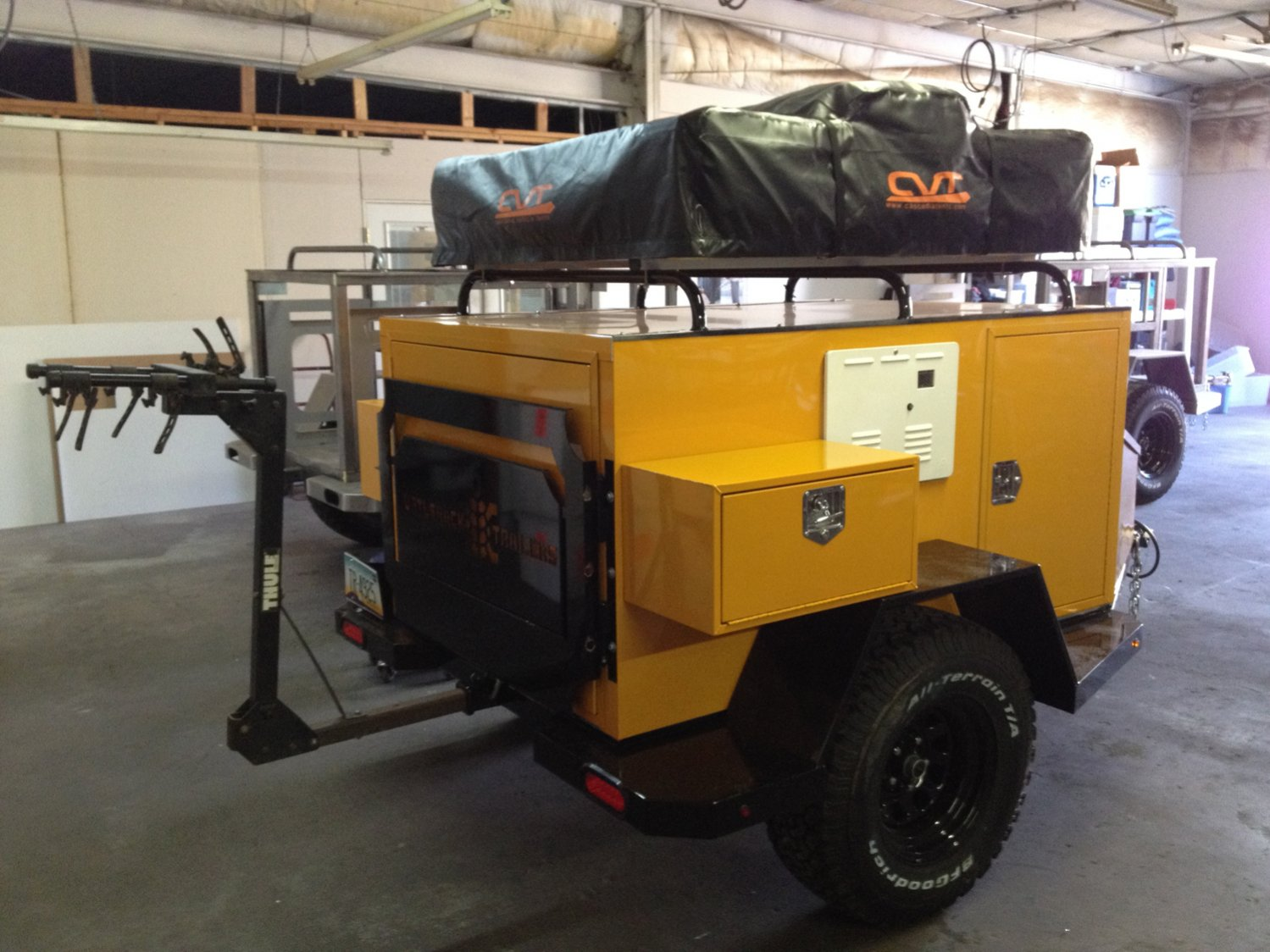 Turtleback Trailer With All The Goodies Sold Expedition