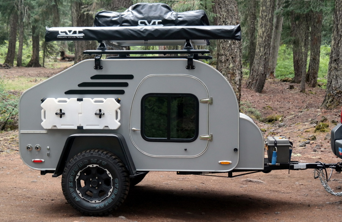 Off Road Teardrop Trailer Build