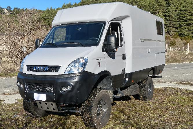 Interesting Iveco 4x4 build for sale. | Expedition Portal