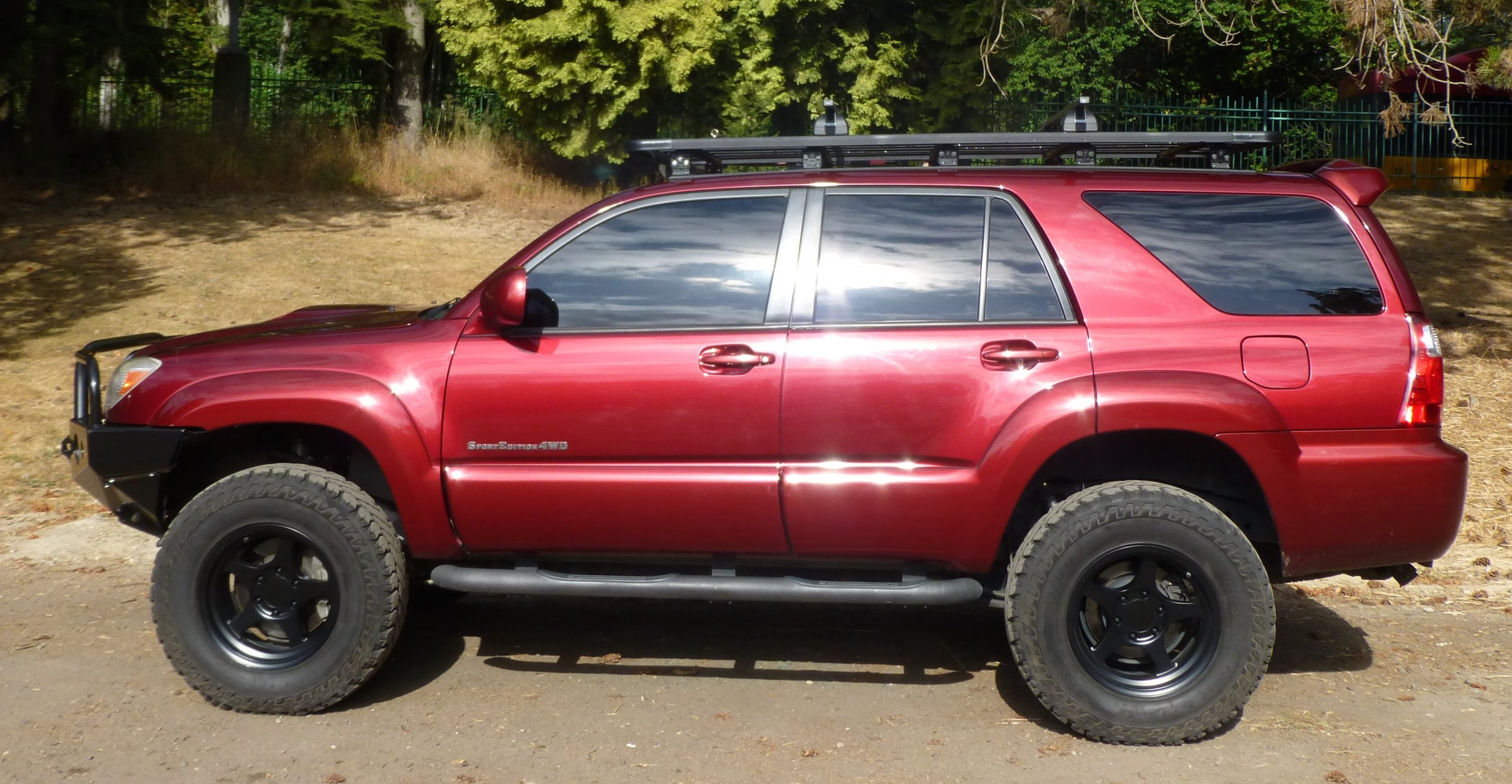 Sold Please Delete 2006 Toyota 4runner Se V8 Red Icon Lift Seattle Expedition Portal
