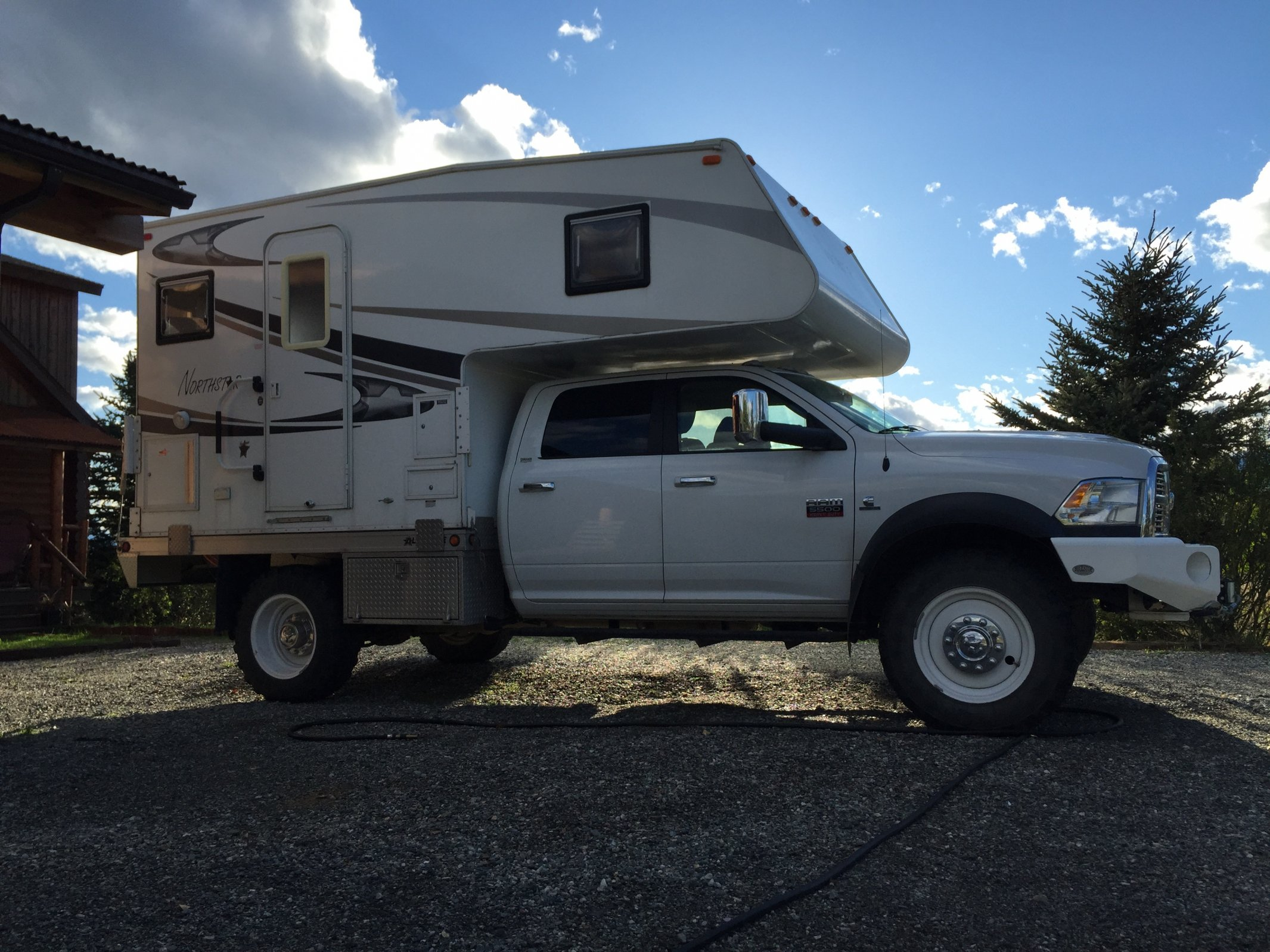 Sold Ram 5500 Flatbed Camper New Pics Interior Price Dropped May Sell Parts Expedition Portal