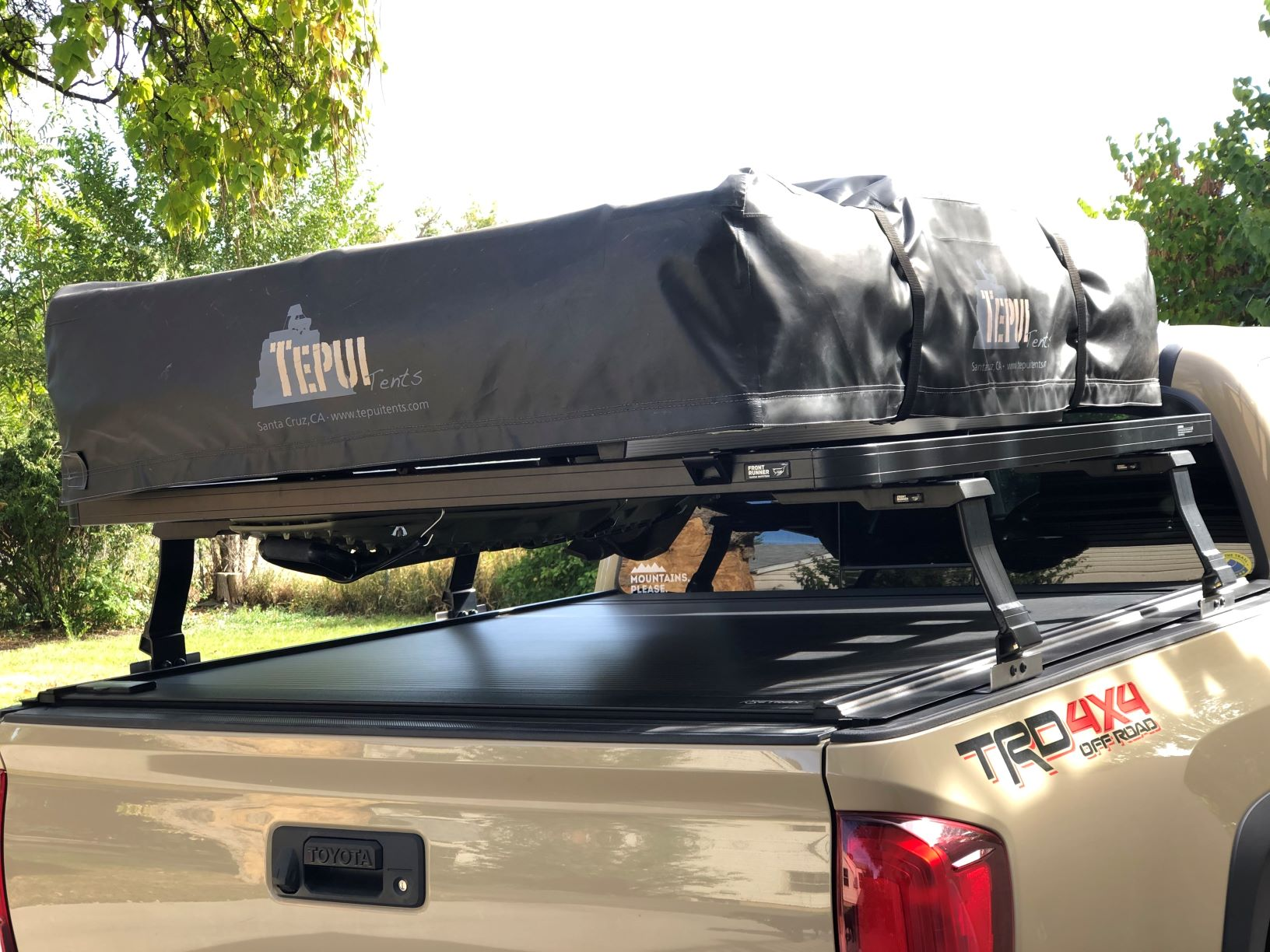 Sold Tepui Roof Top Tent Front Runner Bed Rack And Retrax Tonneau Cover 3000 Grand Junction Co Expedition Portal