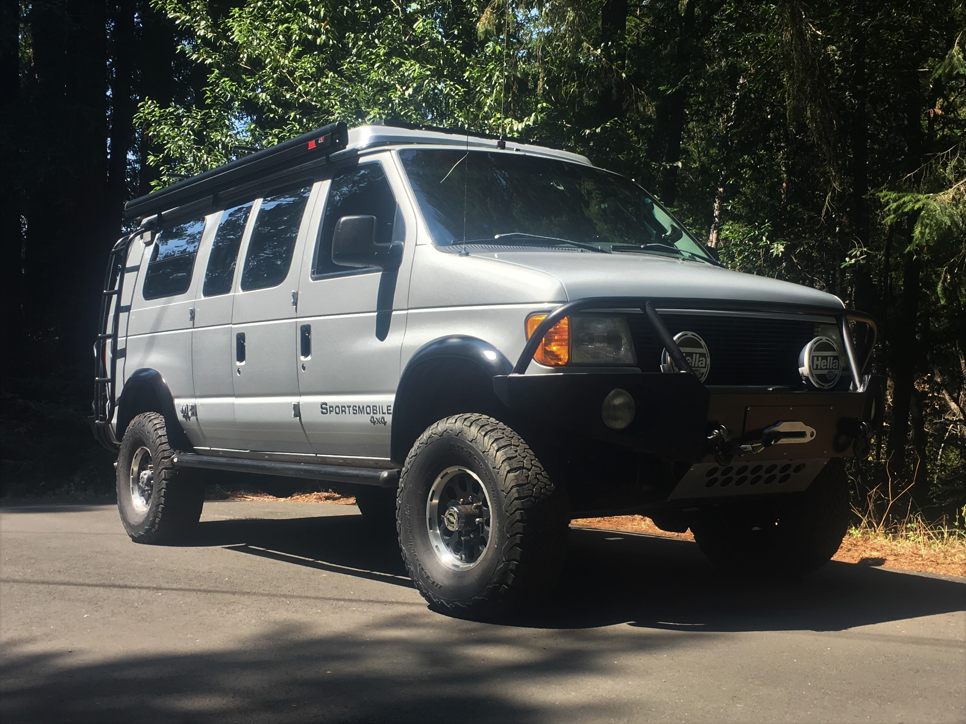Sold Sportsmobile 4x4 Camper Van 85k Expedition Portal