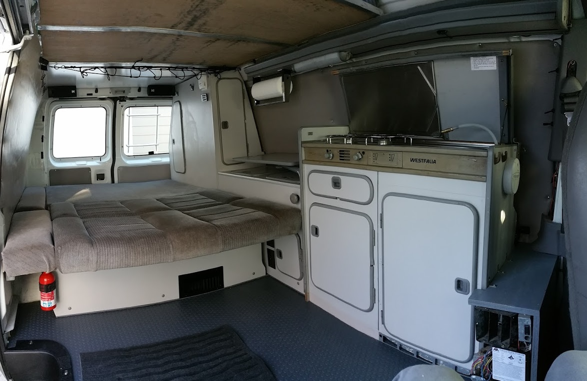 Ford Hi Top Camper Van With Westfalia Interior