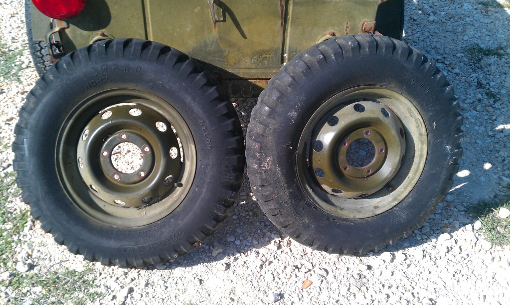 M416 Trailer Wheels