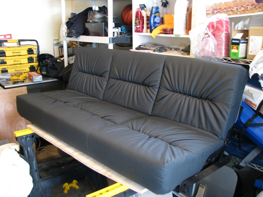 sofa bed for camper van expedition portal With van sofa bed for sale