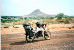 XT600 fully loaded in Mali.jpg