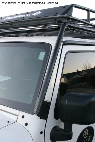 baja rack front mount