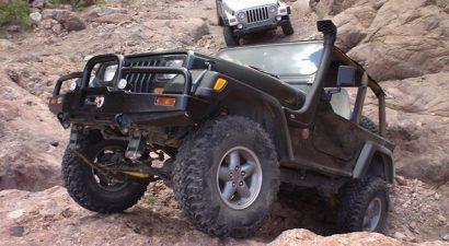 Martinez Canyon 4 Wheel Drive Jeep