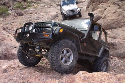 Martinez Canyon 4 Wheel Drive Jeep