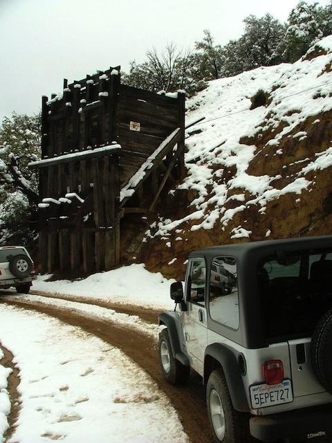 Mexico Border Trail Kansas Mine