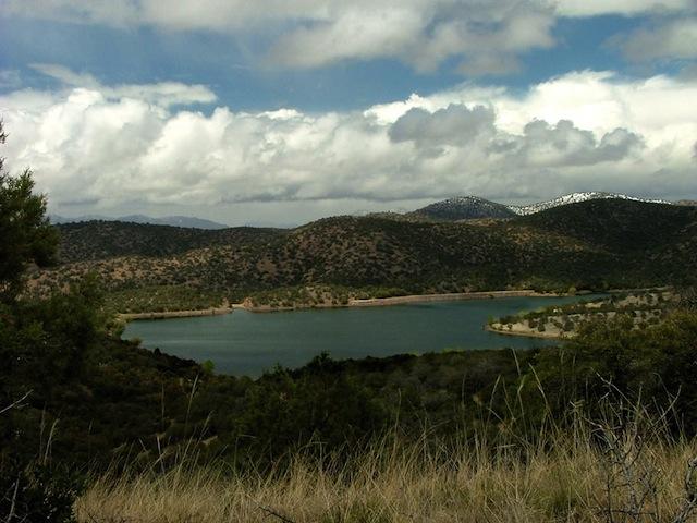 Mexico Border Trail Parker Canyon Lake