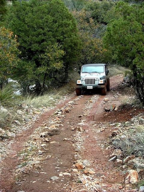 Mexico Border Trail 4 Wheel Drive Jeep