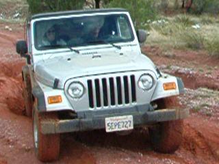 Mexico Border Trail Jeep Wrangler X