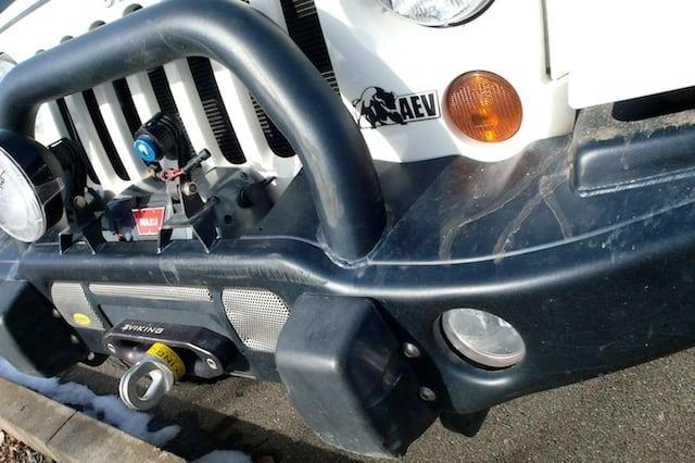 AEV Bumper - No Damage