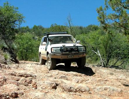 Gardner Canyon Granite Mountain 4 Wheel Drive