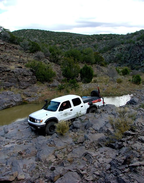 Tank Trap Trail NM 4 Wheel Drive Tacoma