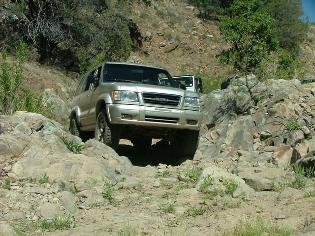 Gardner Canyon Granite Mountain 4 Wheel Drive