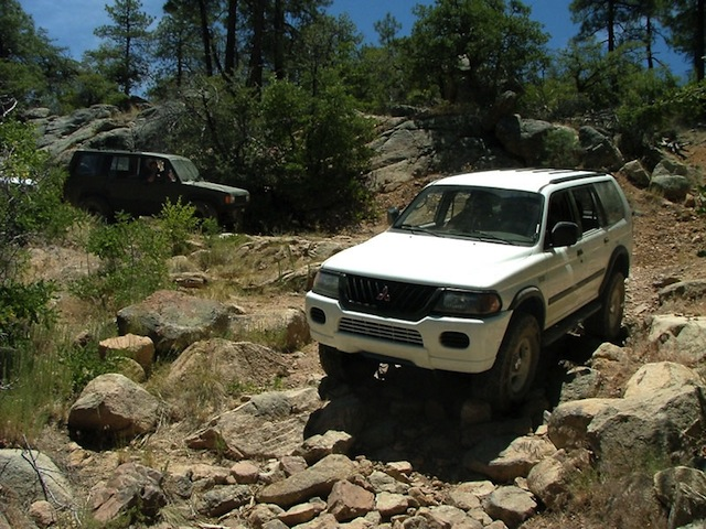 El Oso Mine Trek 4 Wheel Drive