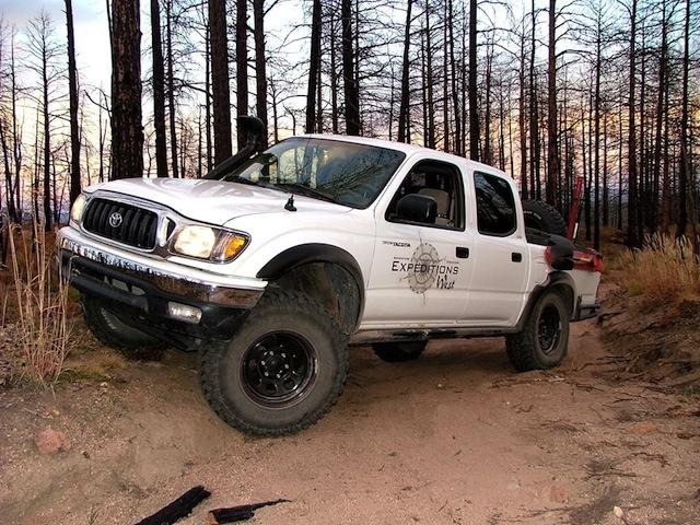 Colorado Trails Longwater Gulch 4 Wheel Drive Tacoma