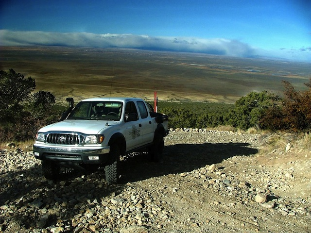 Colorado Trails Mount Blanca 4 Wheel Drive Tacoma