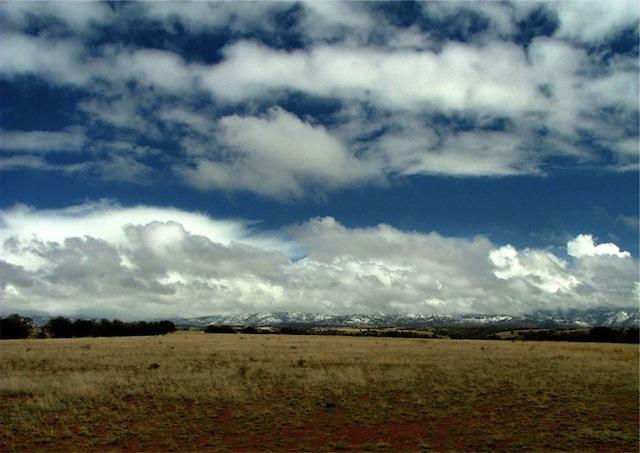 Mexico Border Trail Coronado Clouds