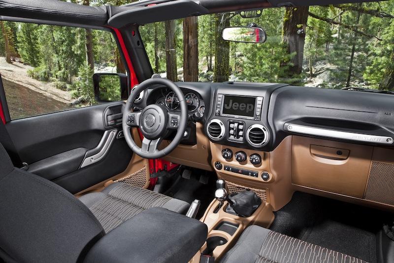 2012 Jeep interior