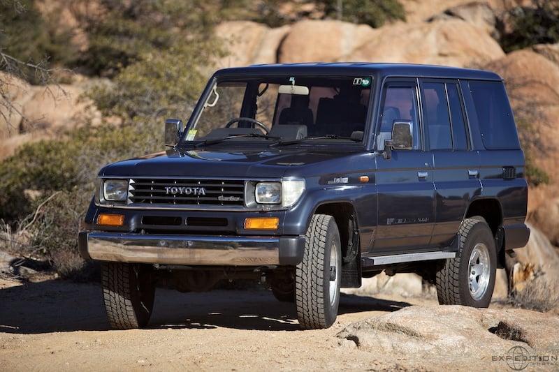 78 Series Land Cruiser Prado: Project Vehicle - Expedition