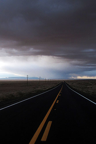 Storms over the Navajo