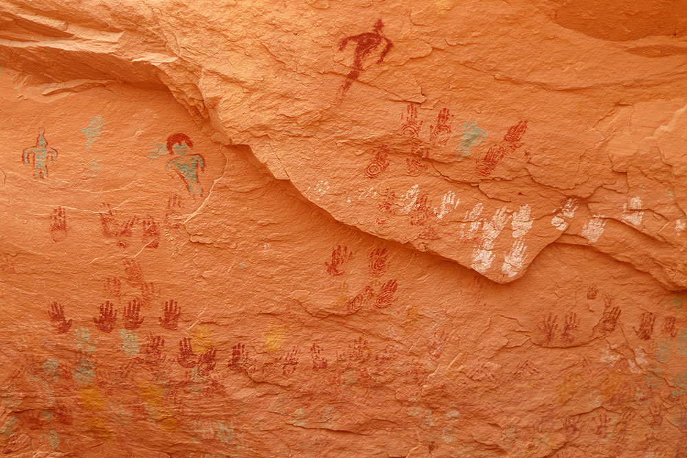 Handprints and Pictographs