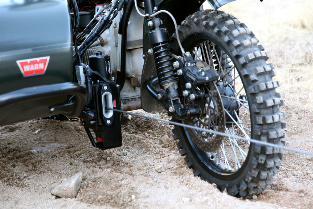 Kalaber Creations Warn Winch Mount For The Ural Gear Up