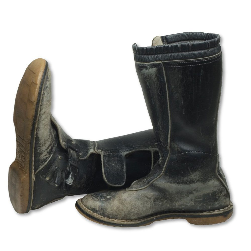 A Motorcycling Classic Aerostich Combat Touring Boots