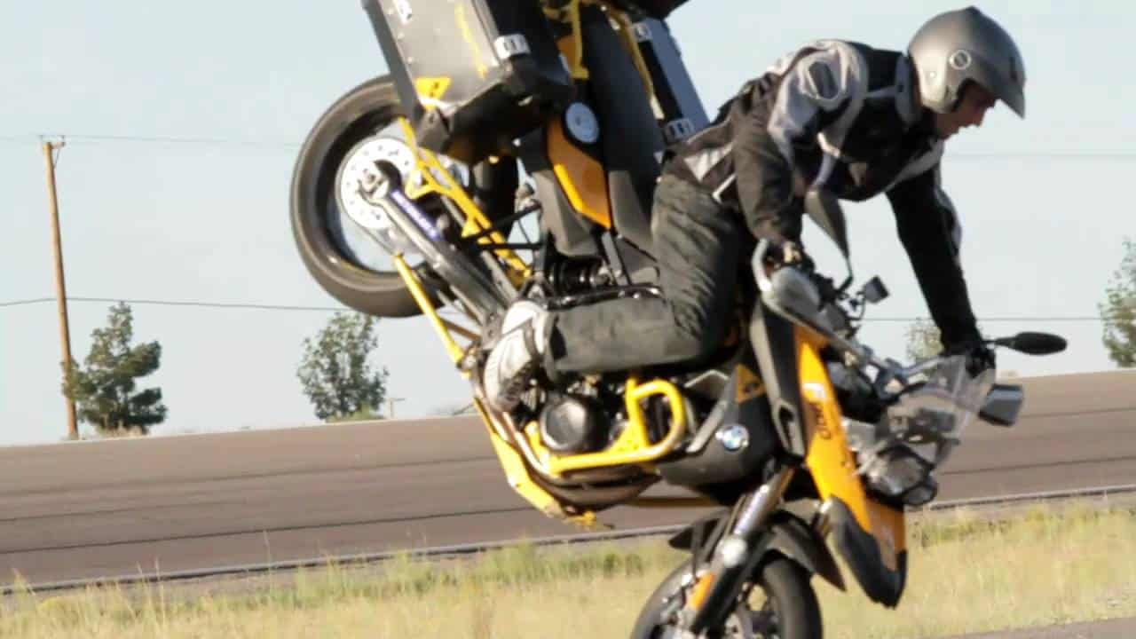 Twisted Throttle Equpped F800gs And Chris Teach Mcneil