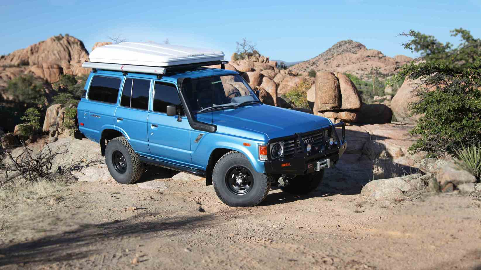 Featured Vehicle: Toyota 60 Series with 4.2-Liter Turbo Diesel