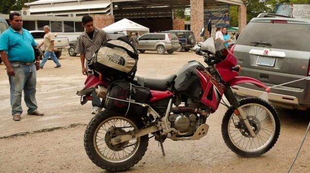 Motojournalism North Face duffel-1290127