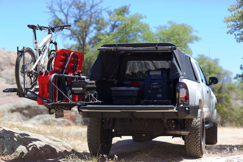 Lou Ortego S Toyota Tacoma Fit For Adventure Expedition