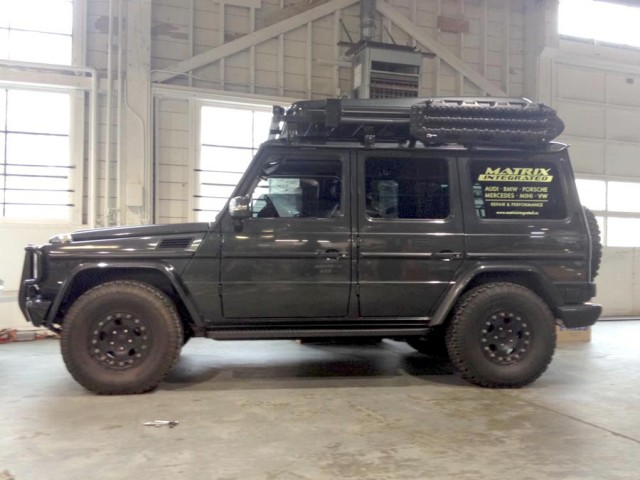 Featured Vehicle: Jeremy Williams' G500 - Expedition Portal