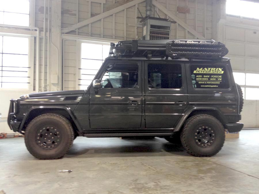 Featured Vehicle Jeremy Williams G500 Expedition Portal