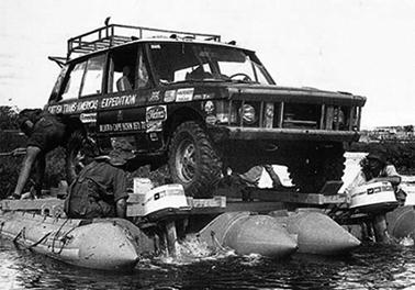 1972 Range Rover Darien Gap Floating