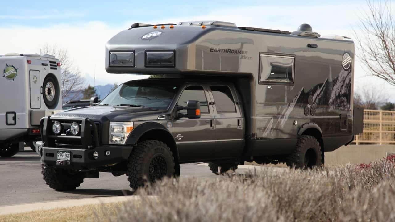 Featured Vehicle Earthroamer S Flagship Xv Lts