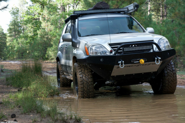 Featured Vehicle Adventure Driven S Lexus Gx 470