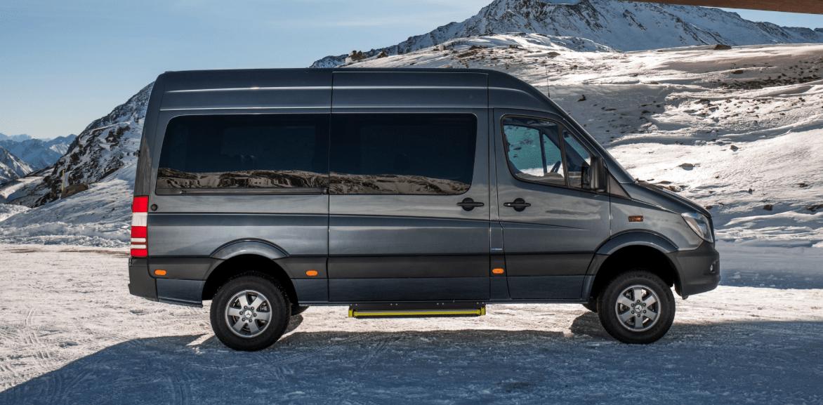 Mercedes Benz Sprinter Van: Improvements for 2015
