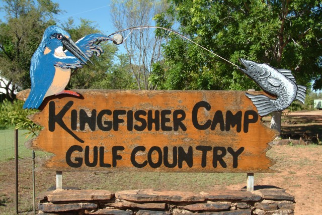 14-Sign-Kingfisher camp